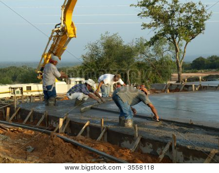 Laying The Form Boards