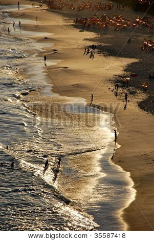 Sunset on Piratininga beach