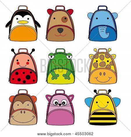 animal shaped backpacks