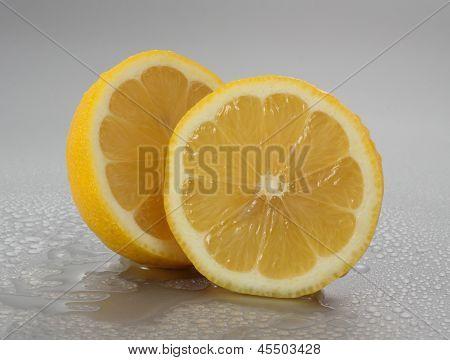 Sliced Fresh Lemon