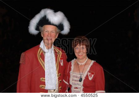 Dressed Up Couple