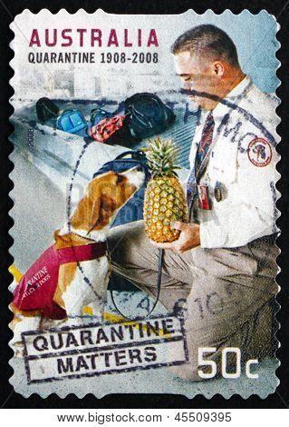Postage Stamp Australia 2008 Quarantine Matters