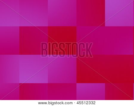 Abstract Squares Colorful Background