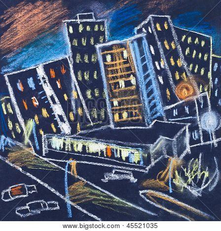 City In Night
