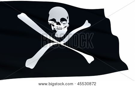 Pirates Flag Waving