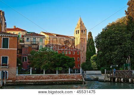 A Quiet Corner Of Venice - Campiello San Vidal