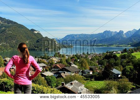 Gazing upon the Fuschlsee