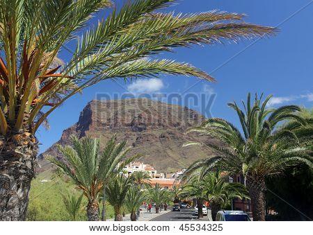 La Gomera Valle Gran Rey town