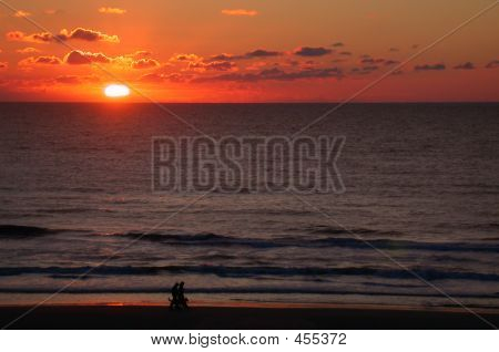 Walking The Sunset