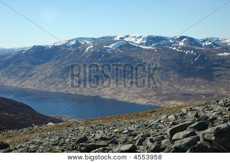 Scottish Peak And Loch