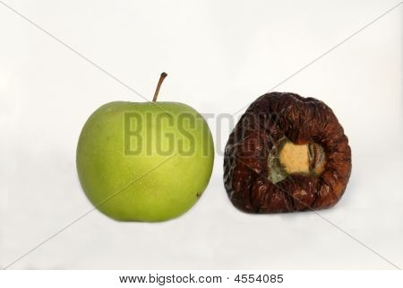 Fresh And Rotten Apples