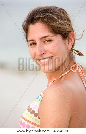 Beach Woman Portait