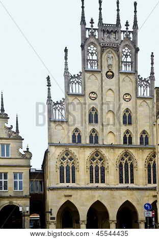 Germany, Muenster. Sacred Lambert's Church.