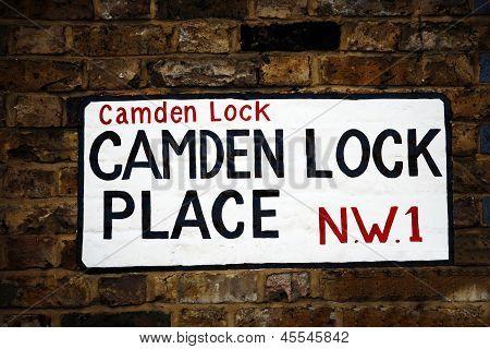 London Street Sign, Camden