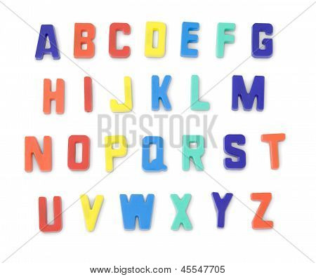 Toy Alphabet Letters
