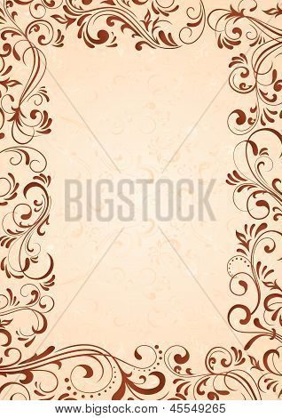 Background With Frame