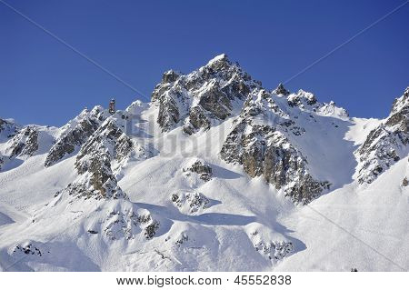 French Alpine Peak