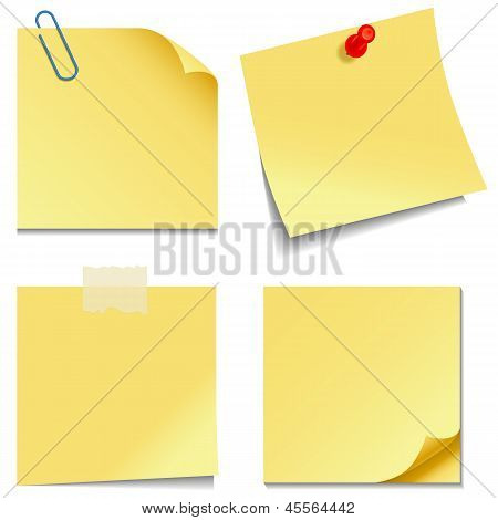 Notas auto-adesivas