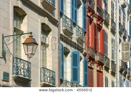 Shutters In Street Bayonne