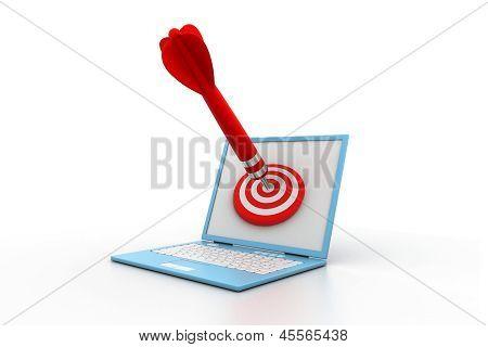 Computer  target