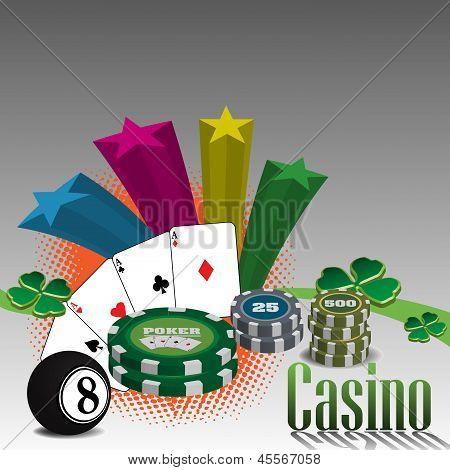Casino Thema