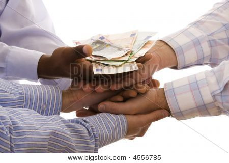Receiving The Money