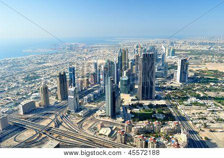 Vista de Dubai.
