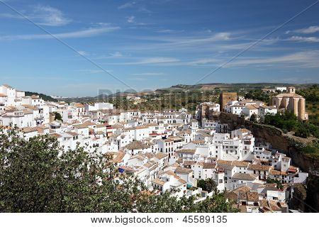 White Village in Andalusia Spain