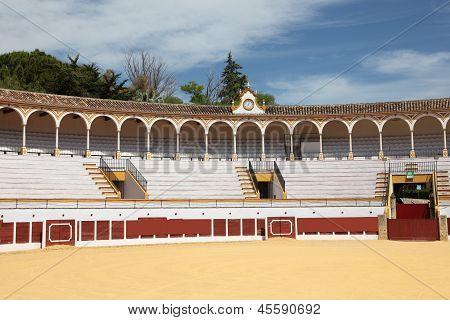 Bullring In Antequera, Spain