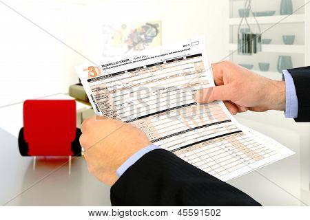 730 Tax Return