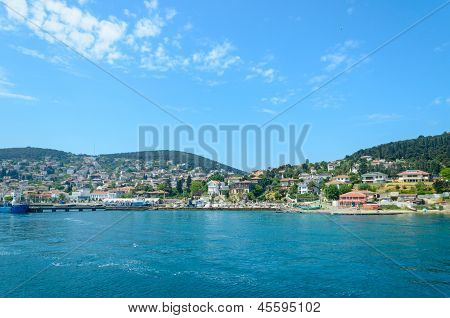 Turkey, The Marmara Sea.