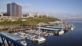 Commencement Bay Waterfront Extending North To Stadium District Tacoma Washington