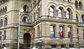 stock photo of prime-minister  - The Langevin Block Office of the Prime Minister of Canada across the street from Parliament Hill in Ottawa - JPG