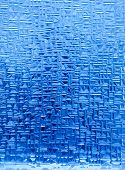 pic of ice cube  - A background texture of blue ice crystals - JPG