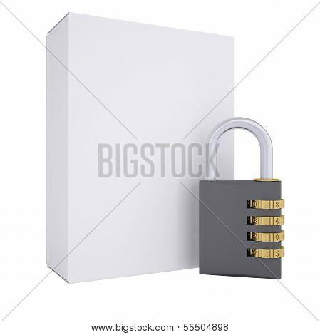 Combination lock and white box