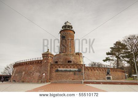 Lighthouse In Kolobrzeg - Poland.