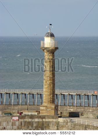 Whitby Harbour Lighthouse