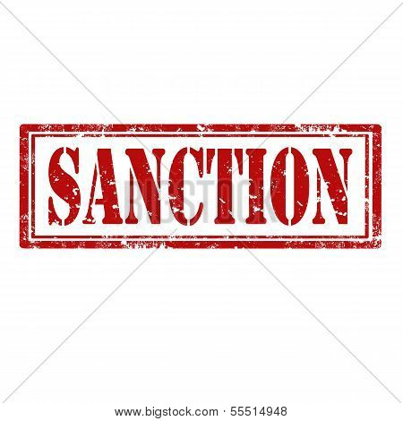 Sanction-stamp