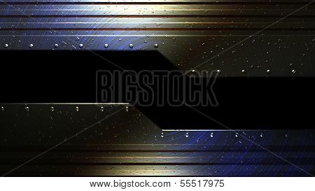 technical machine metal background