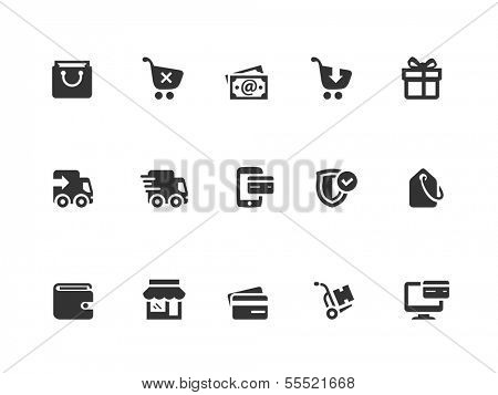 Shopping and Ecommerce icons