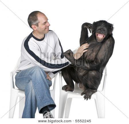 Interplay Between Human And Monkey