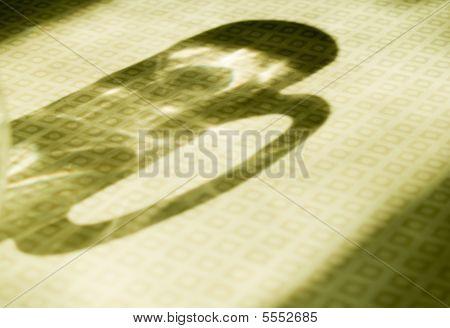 Beer Glass Shadow