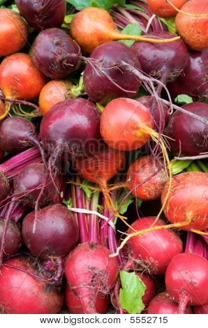 Multicolored Beets