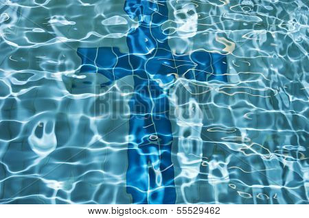 Cross Sign, Swimming Pool