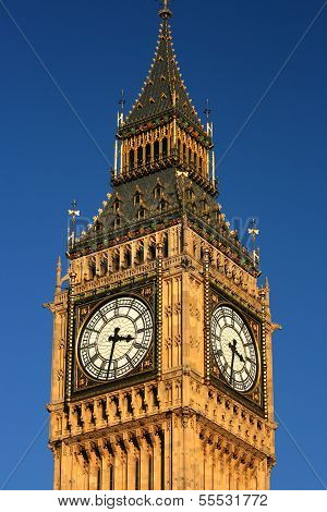 The Big Ben Clock Tower, Palace of Westminster