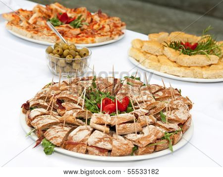 Table food - appetizers