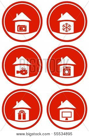 red icons for sale