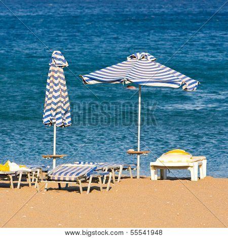 Leasure At The Beach