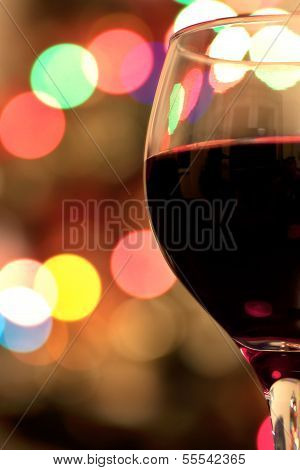 Red Wine And Bokeh