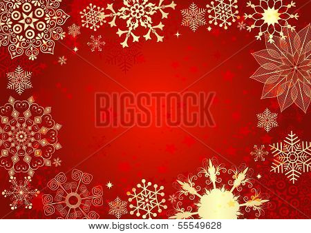 Red Christmas Card